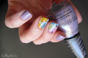 Nail art SinfulColors Kosy & Lucky Rose