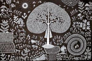 Art Warli : le mouvement de la vie