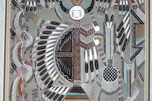 Art Navajo : Biigaaskidi, la providence des déprimés