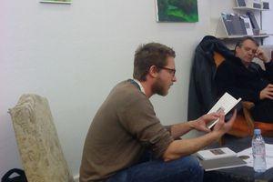 """- Au Leé, ce WE, excentré et/mais relié au """"Livre à Metz"""", il a été question de la (re)présentation du paysage  avec Jérémy Liron et Emilien Sarot"""