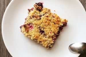 Crumble Pommes Fruits rouges