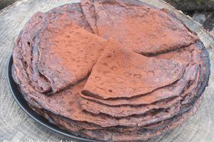 La Chandeleur: recette des crêpes au chocolat.