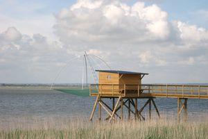 L'Estuaire vu d'une Pêcherie