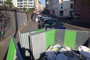 Travaux rue Riquet : terminés ou pas?