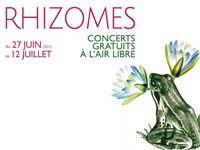 Le festival Rhizomes à La Chapelle en juillet 2015