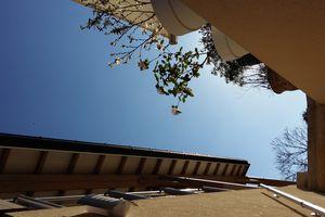 Terrasse vue d'en bas