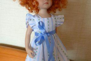 Eglantine étrenne une robe vintage!