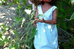 La robe d'été de Cannelle