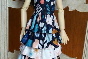 Une robe à volants pour Amélie
