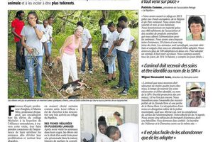 MERCI A FRANCE ANTILLES POUR SON ARTICLE DU 04 mai 2017