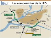La relance de la L.E.O dans son tracé actuel  est une mauvaise nouvelle pour notre ville et notre territoire !
