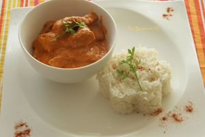 Bataille Food # 15  Butter Chicken