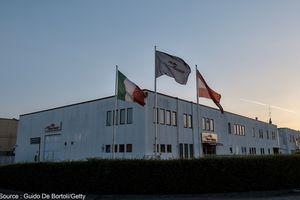 Deux blessés dans un accident au siège de Toro Rosso