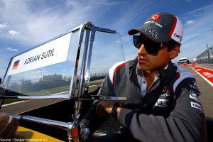 Adrian Sutil avait un contrat chez Sauber pour 2015