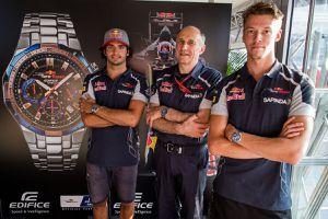 Casio lance une montre aux couleurs de Toro Rosso