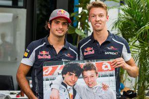 Toro Rosso conserve également Daniil Kvyat pour 2017