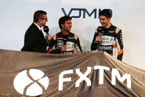 FXTM rejoint Sahara Force India