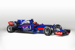 Toro Rosso change sensiblement de couleurs