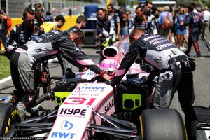 Potentielle amende de 25000 euros pour Sahara Force India