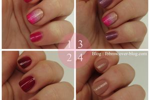 Swatch & Accent nail girly
