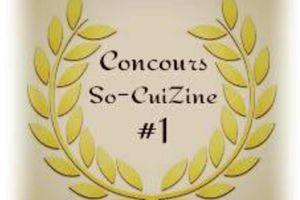 Concours So-CuiZine #1
