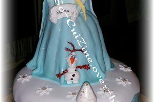 Pinata Cake Frozen