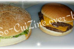 Pain a hamburger