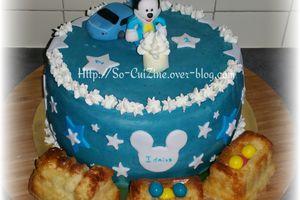 Mickey Baby Cake (sans pâte à sucre de couverture)