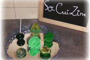 Mignardises tout de vert vêtues - Défi 4 SugarParis