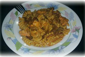 One Pot Pasta Poulet et Girolles
