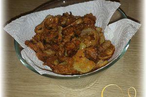 Oignons frits