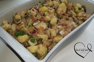 Salade de hareng aux pommes de terre