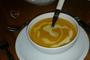 Velouté de Courge Butternut - Réalisé au Cook-Expert de Magimix