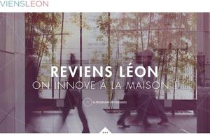 """REVIENS LÉON"", L'APPEL DES START UP..."