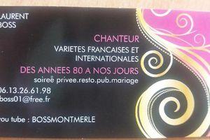 Restaurant Chez Foucher:Laurent Chante Tous les Mardis soirs