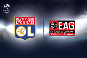 OL-Guingamp Réduction de 40 % Places à Partir de 9 euros