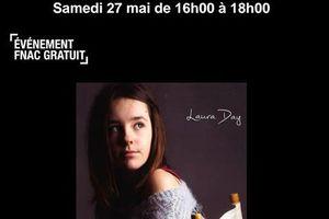 Laura Day sera en showcase à la  fnac de Belleville Samedi 27 Mai
