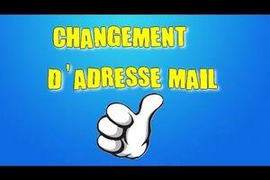 Génération Montmerle Change d' Adresse Mail