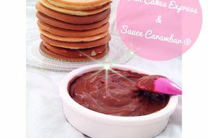 PanCakes Express & crème Carambar ®