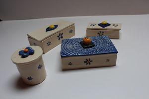 Boîtes céramique