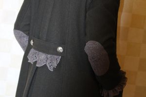 Manteau customisé