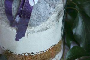 Cadeau gourmand : kit pour pain d'épices aux fruits secs