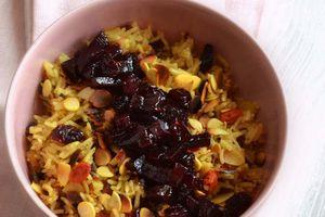Riz pilaf aux fruits séchés et betterave confite + concours Taureau Ailé !