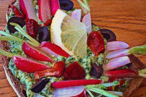 Mon dimanche aux Journées Marmiton 2016 + la recette de la tartine printanière aux radis et ses fanes en pesto