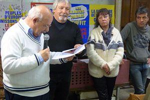Fête des travailleurs et de la paix au Pont-des-Angles: Le PCF en campagne pour les européennes
