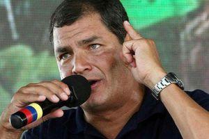 Le collectif équatorien l'Amazonie Vit soutient le président Rafael Correa