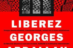 Tunis : manifestation pacifique devant l'ambassade française le 14 juillet pour la libération de Georges Ibrahim Abdallah
