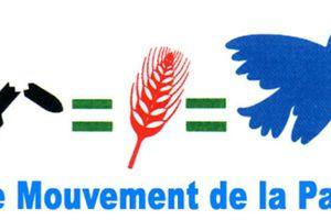Rassemblement de solidarité avec la Palestine samedi 02 août à Tulle : le communiqué du Mouvement de la Paix de Corrèze