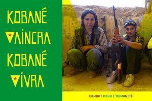 Journée mondiale pour Kobanê : CONTRE DAESH, POUR KOBANÊ, POUR L'HUMANITÉ !les organisations signataires