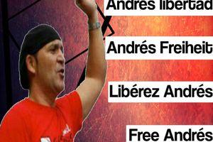 30 juin : journée mondiale pour la libération d'Andres Bodalo